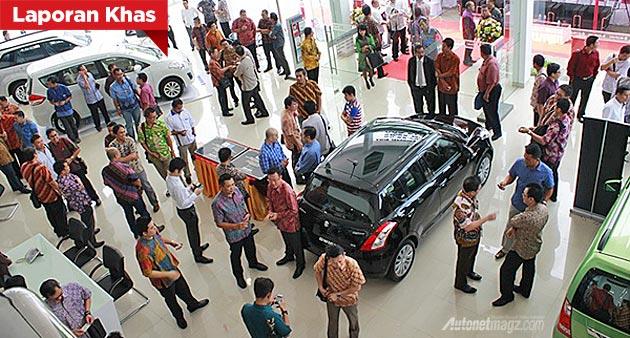 Dealer Suzuki mobil Medan