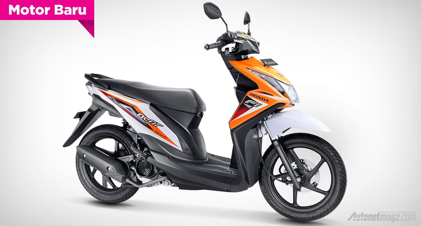 Honda, Honda Beat striping Baru 2014: Honda Beat 2014 Striping Baru Lebih Ramah Lingkungan