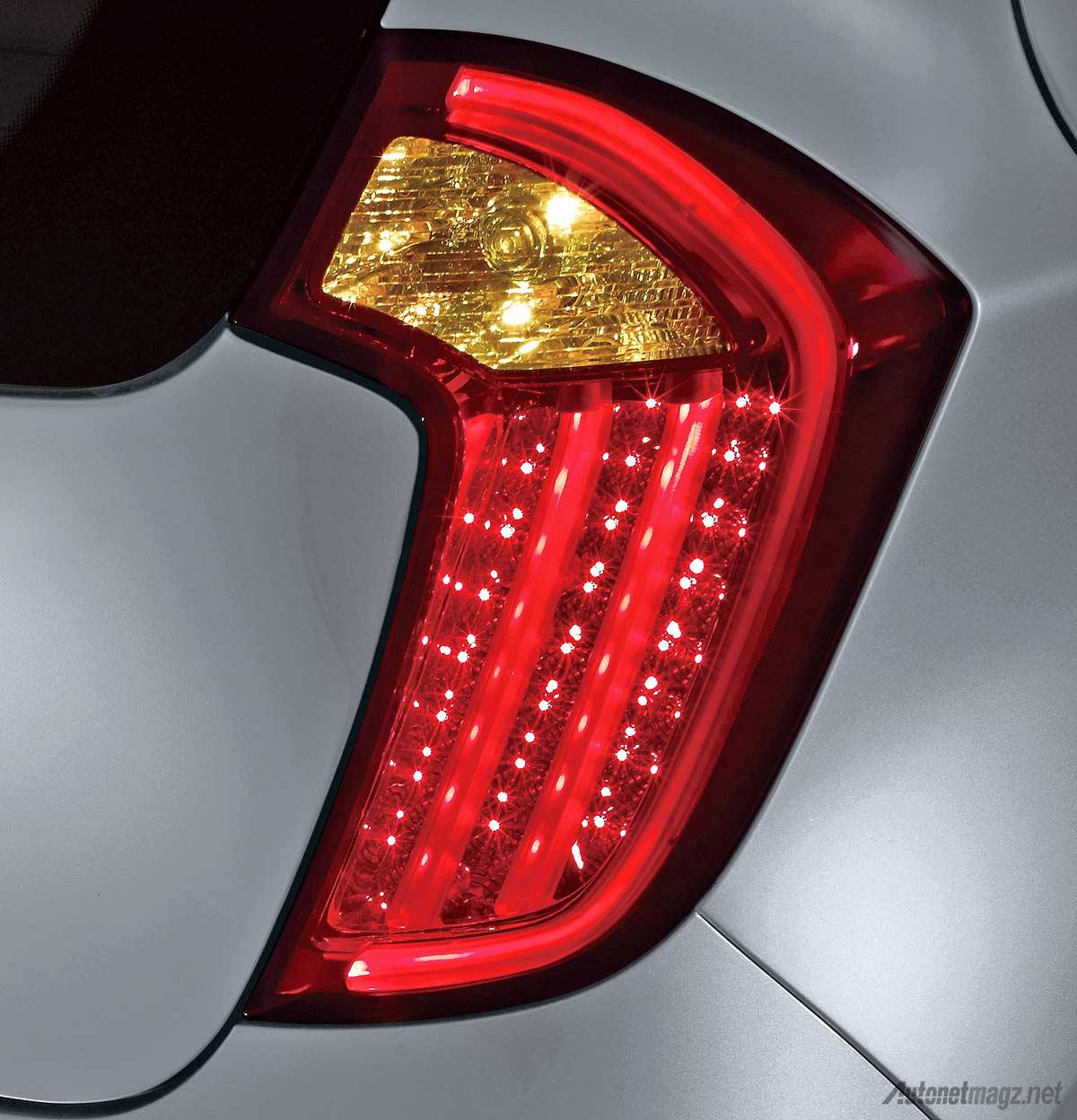 Kia, Lampu belakang LED KIA Picanto Platinum baru 2014: KIA Picanto Platinum, Varian Tertinggi Picanto Resmi Diluncurkan