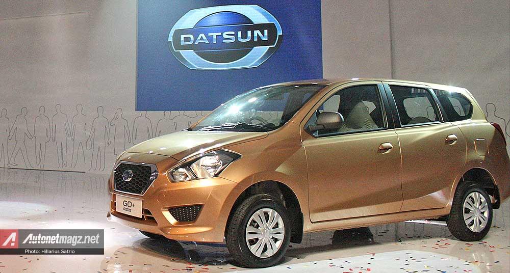 Mobil MPV murah Datsun GO+ Panca