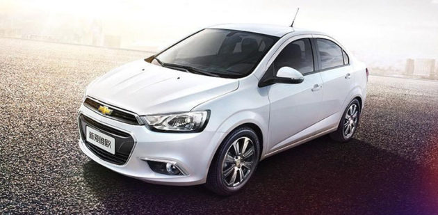 New Chevrolet AVeo Facelift 2014