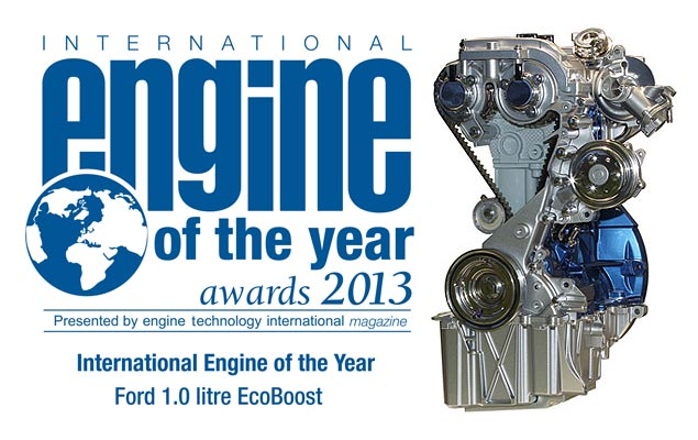 New Ford Fiesta EcoBoost 1.0-L as the International Engine of The Year 2012 dan 2013