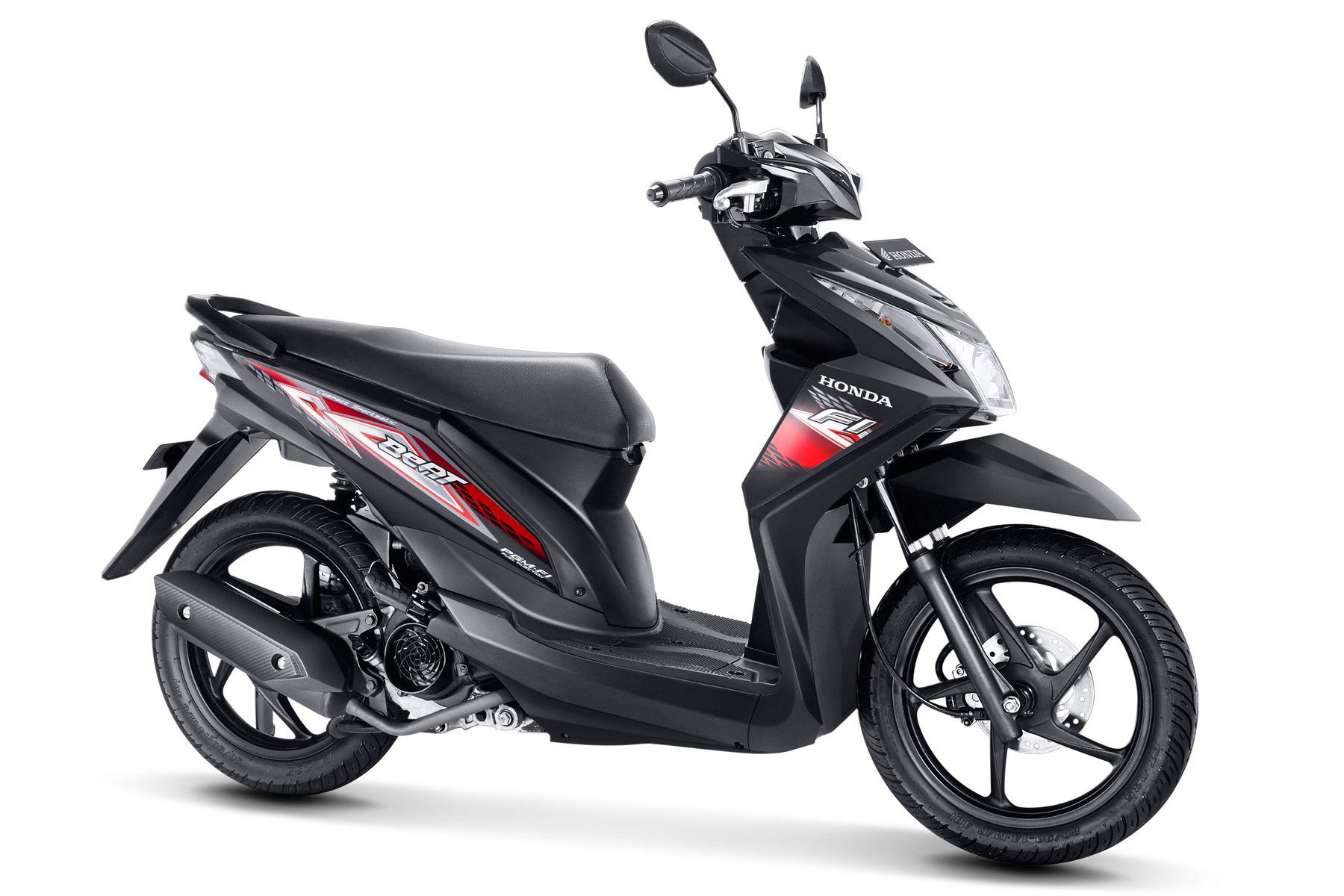 Honda, Striping Honda Beat Baru: Honda Beat 2014 Striping Baru Lebih