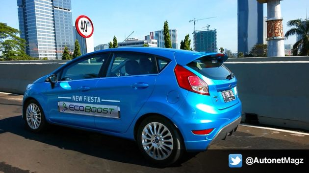 Test drive New Ford Fiesta EcoBoost 1.0-liter