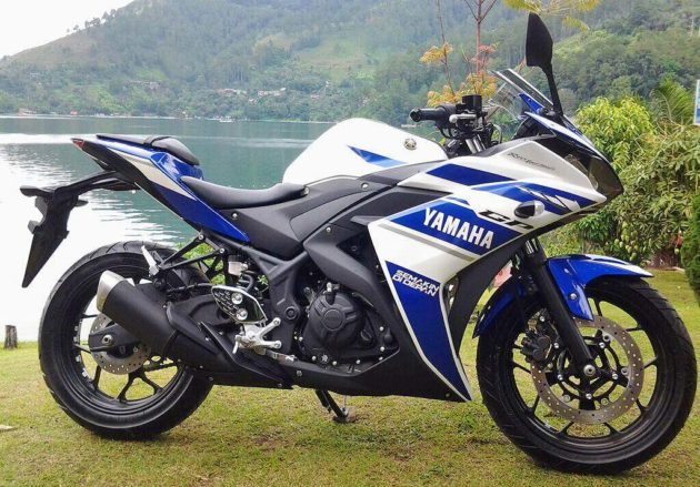 Yamaha YZF R25 launch 2014