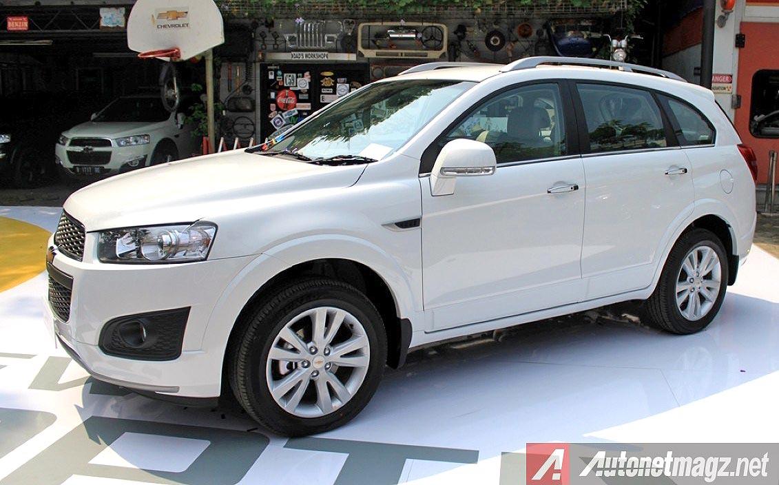 2014 New Chevrolet Captiva facelift 2014 tipe AWD