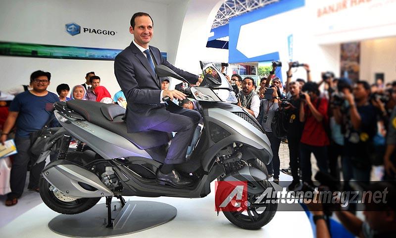 Motor Baru, 2014 Piaggio MP3 Indonesia: Vespa Luncurkan 4 Motor Sekaligus di Pekan Raya Jakarta