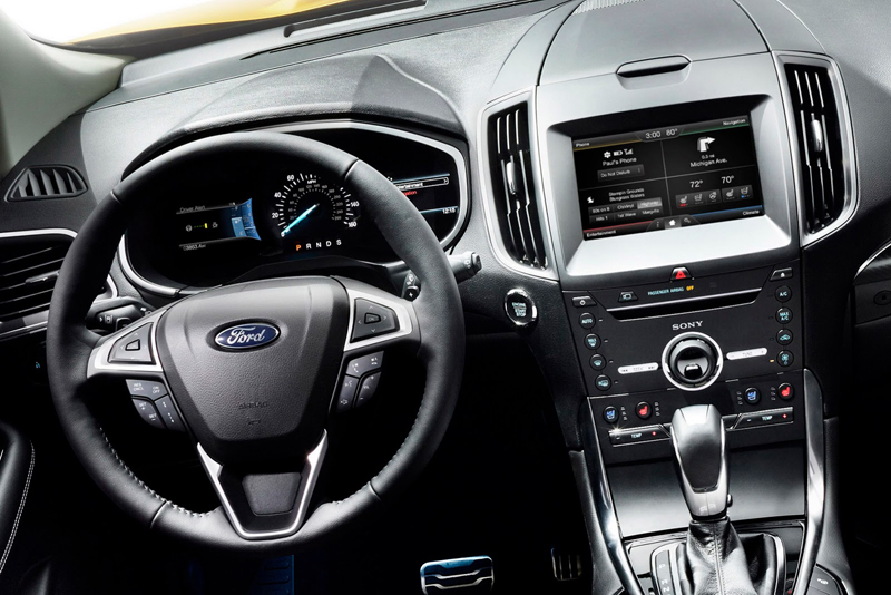 2015 ford edge dash autonetmagz review mobil dan motor baru indonesia. Black Bedroom Furniture Sets. Home Design Ideas