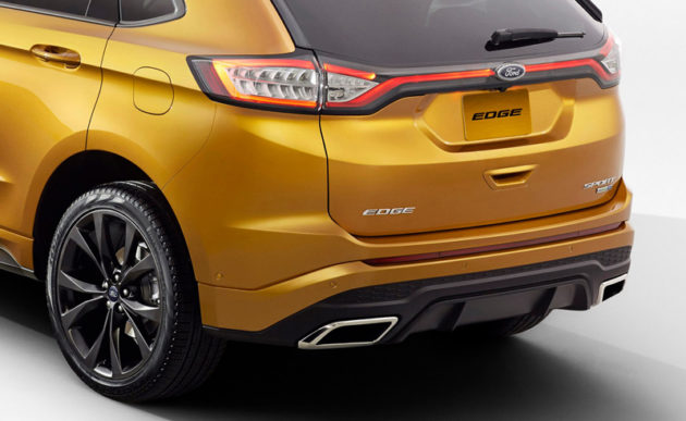 2015 Ford Edge Taillights