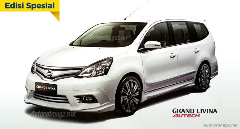 New Nissan Grand Livina Highway Star Autech akan Meluncur ...