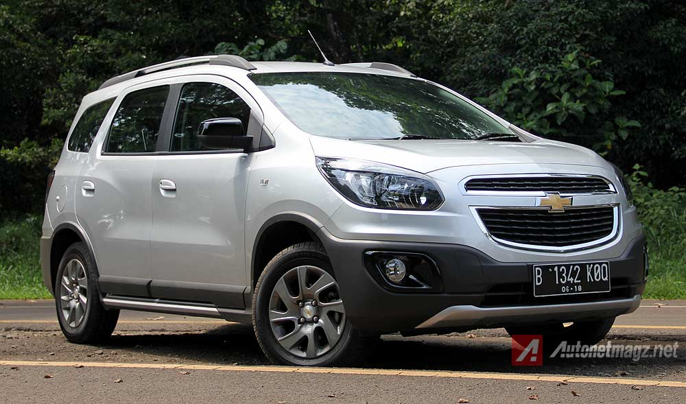 Chevrolet, Desain bumper depan Chevrolet Spin Activ crossover: Test Drive Review Chevrolet Spin Activ 1.5 AT by AutonetMagz [with Video]