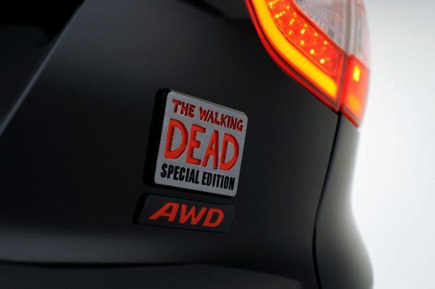 Emblem Hyundai Tucson Special Edition Walking Dead