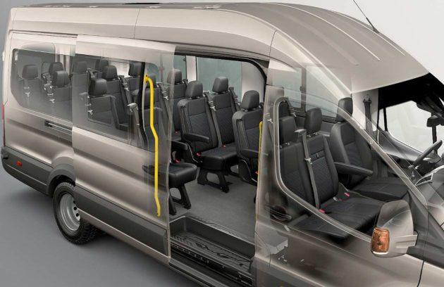 Ford Transit Minibus 2014