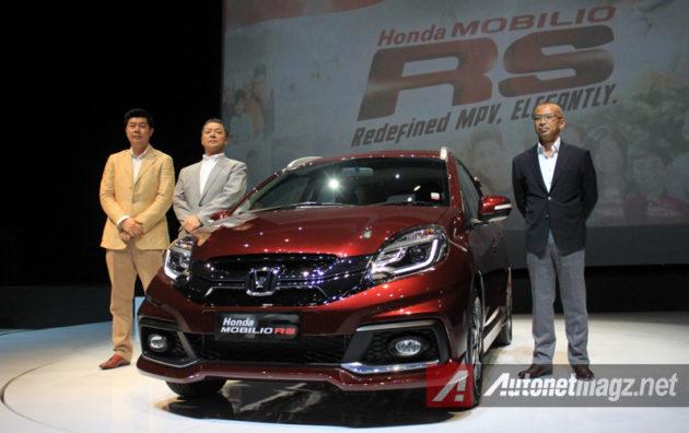 Honda Mobilio RS India