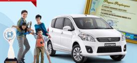 Piala Pariwara Mitra Keluarga Award 2014 untuk Suzuki Ertiga Indonesia dari BKKBN