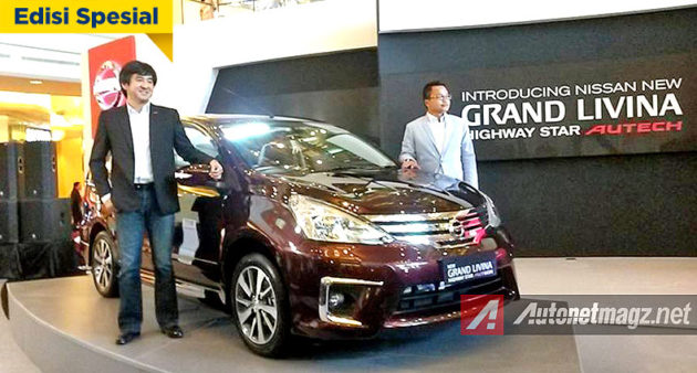 Nissan Grand Livina Autech 2014 Indonesia launch