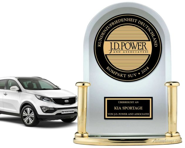 Penghargaan Internasional dari Germany Vehicle Ownership Satisfaction Study™ 2014 untuk KIA Sportage