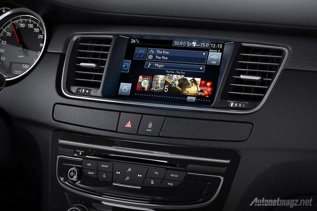 Peugeot Connect Apps in 508 series