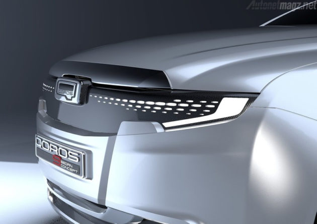 Qoros 9 Headlamp