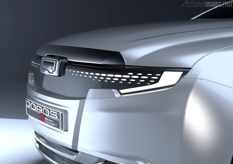 , Qoros 9 Headlamp: Qoros 9 Headlamp
