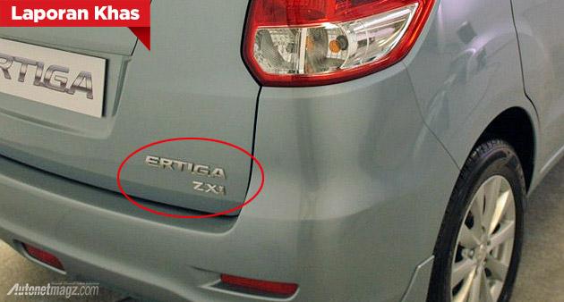 Suzuki Ertiga ZXi diesel Indonesia