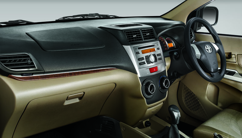 Toyota Avanza Luxury Wooden Panel