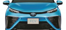 Toyota FCV Fuell Cell Hydrogen Vehicle 2015