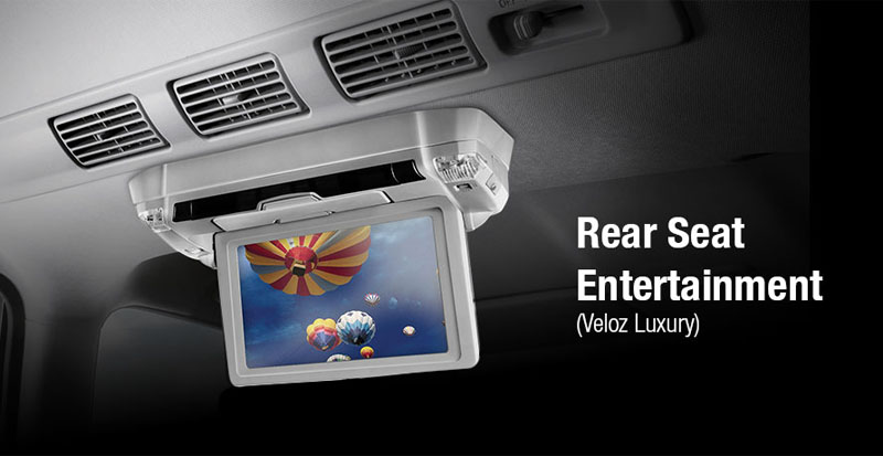 avanza veloz rear seat entertainment
