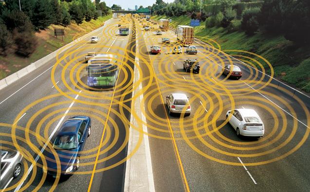 Ford, vehicle to vehicle: Teknologi Vehicle-to-Vehicle (V2V) Diperkenalkan oleh Ford