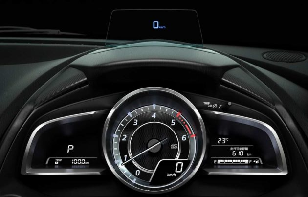 2015-Mazda2-Head-Up-Display