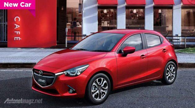 All New Mazda 2 2015 Indonesia