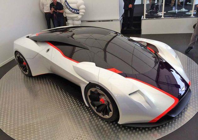 Aston Martin DP 100 Vision concept dummy