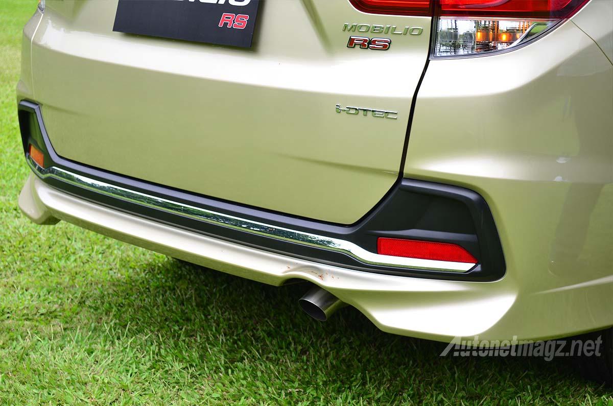 Bodykit Bumper Belakang Honda Mobilio Rs Diesel Autonetmagz