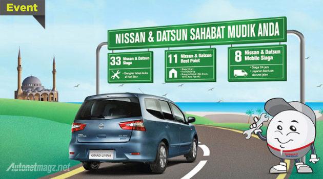 Daftar posko mudik dan bengkel siaga Nissan Indonesia 2014