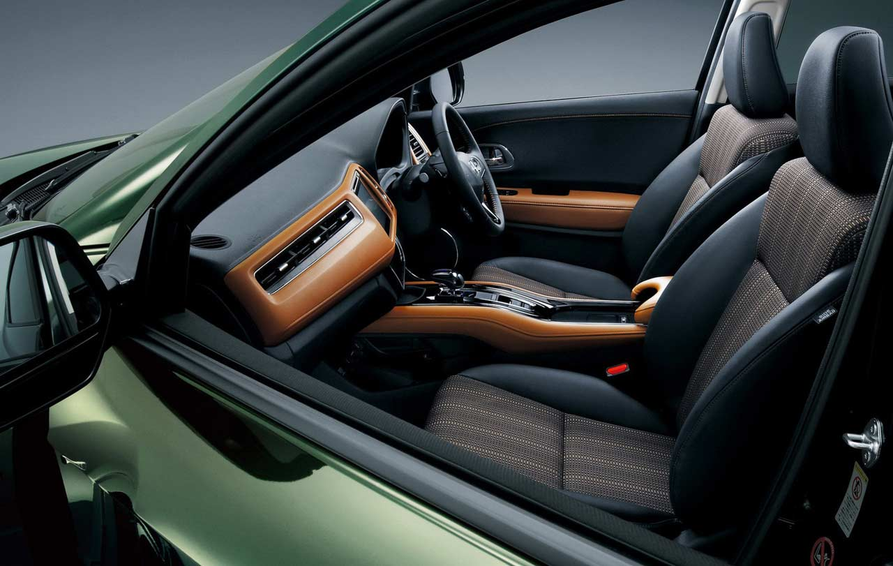 Honda hrv interior for Honda hr v interieur