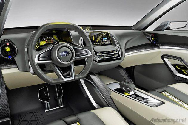 Interior Subaru VIZIV 2 Concept yang akan dipamerkan di IIMS 2014