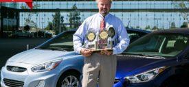Mobil Hyundai dapat penghargaan internasional dari J.D.Power