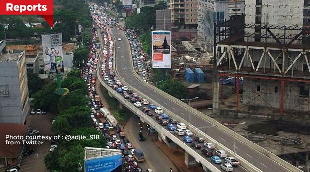 Macet Jakarta makin tambah parah
