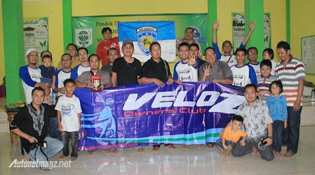 Member klub pemilik dan pengguna Toyota Avanza Veloz Owners Club Indonesia