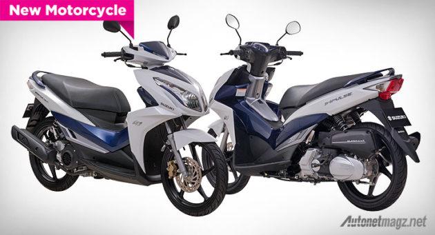 motor skuter matik yang sangat padat dengan banyaknya model baru baru