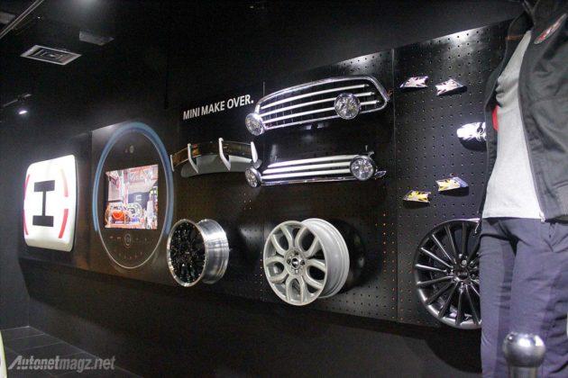 Original accessories MINI Cooper at Grand Indonesia mall