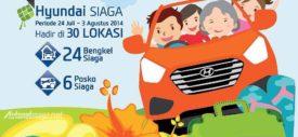 Daftar Posko Mudik dan Bengkel Siaga Hyundai 24 jam 2014