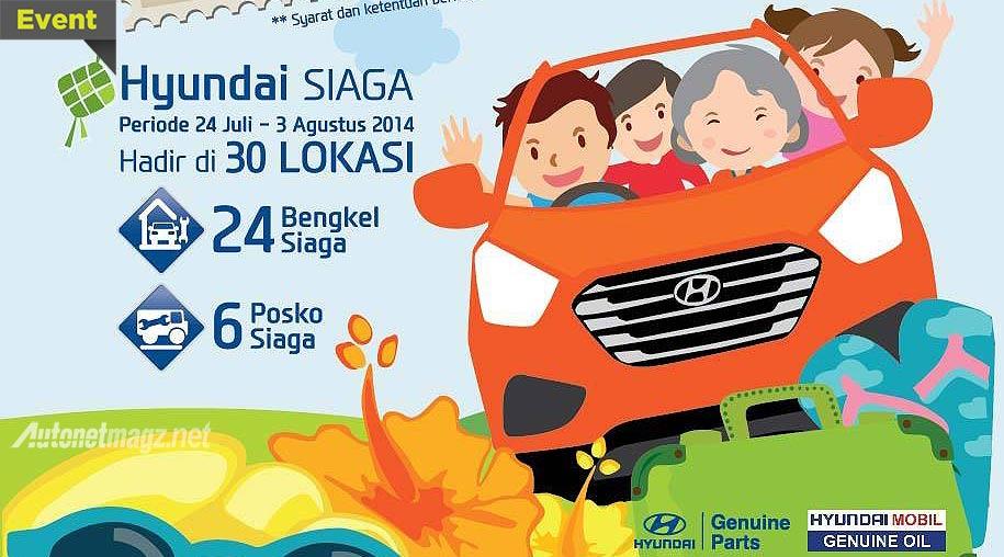 Berita, Posko Mudik Hyundai 2014: Program Lebaran Hyundai Kembali Manjakan Konsumen