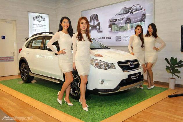 SPG cantik Subaru XV STI