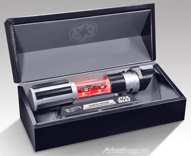 Special Edition Hot Wheels Darth Vader Car