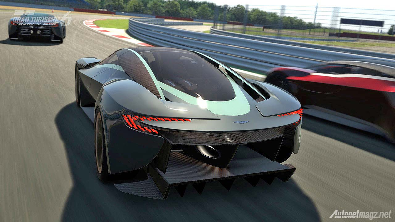 Sports car Aston Martin DP-100 Vision wallpaper