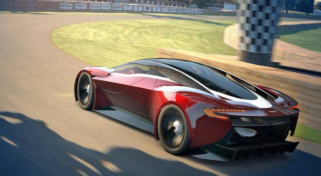 Supercars Aston Martin DP-100 Vision
