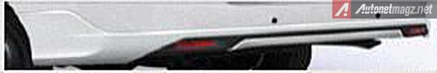 Bumper desain baru Toyota Innova facelift 2014 - 2015