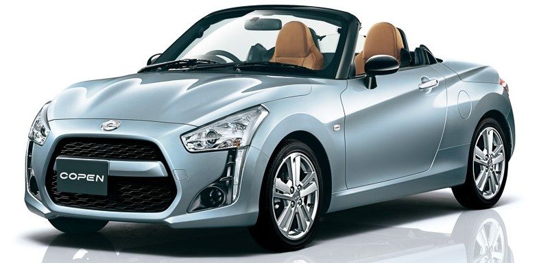 Daihatsu Copen 2nd second generation production model 2014