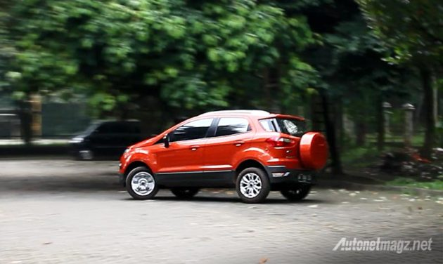 Fitur Electronic Stability Programme ESP mencegah gejala understeer pada Ford EcoSport
